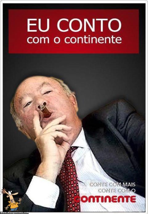 Alberto João Jardim conta com o continente