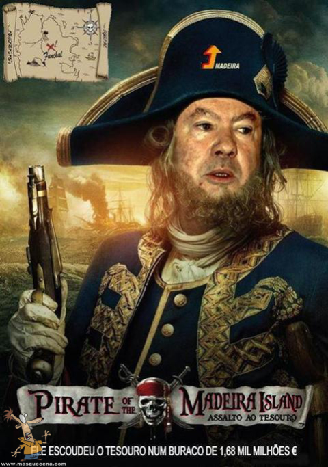 Piratas da Ilha da Madeira com Alberto João Jardim