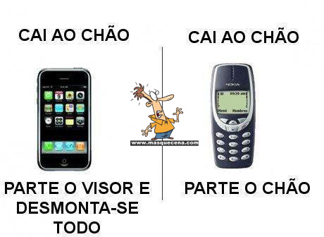 iphone vs nokia 3310