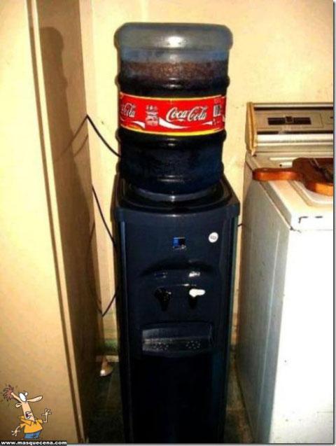 Maquina de coca cola