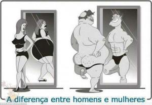 Diferença entre homens e mulheres