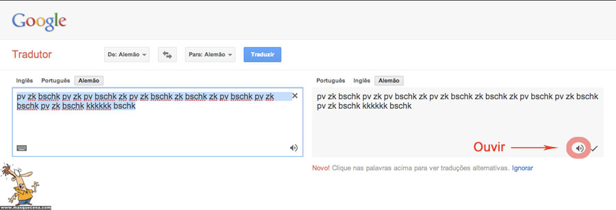 Truque no Tradutor do Google: Beatbox   Mas que Cena! - photo#46