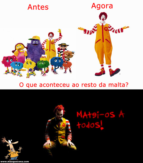 Segredo do Ronald Mcdonald