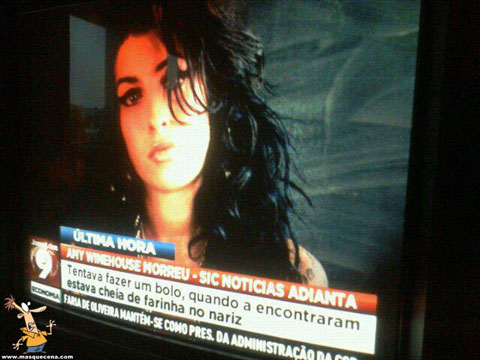 Causa de morte da Amy Winehouse