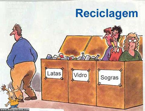 Reciclagem de sogras