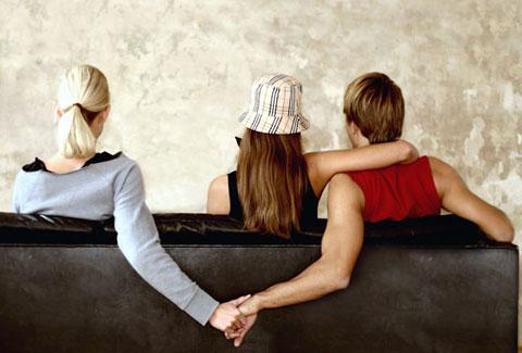 Marido, mulher e a amante