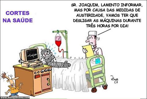Sr Joaquim, vamos ter de desligar as máquinas três horas por dia.