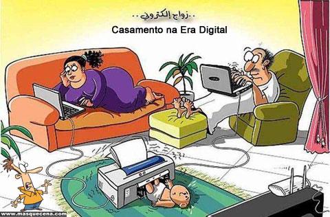Casamento na era digital