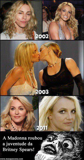 Madonna e Britney Spears
