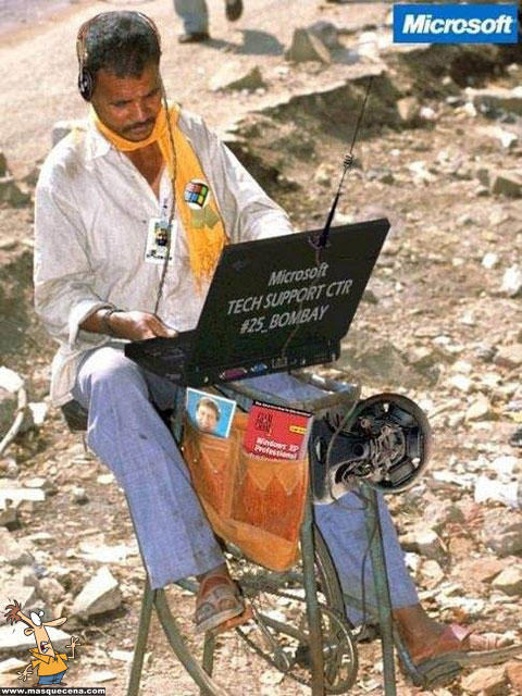 Suporte técnico da Microsoft em Bombay, India