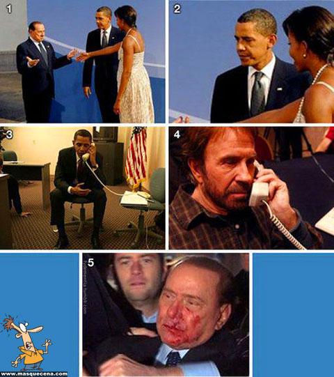 Quando o Obama precisou do Chuck Norris