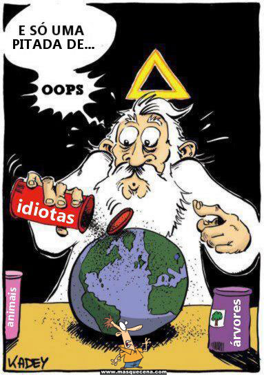 Explicação de porque há tantos idiotas neste mundo