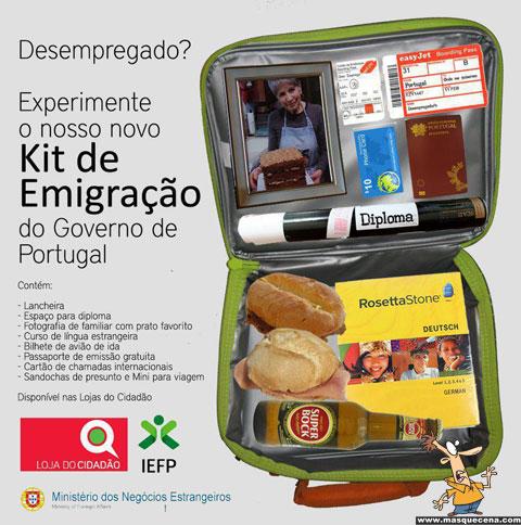 Kit de emigração para jovens licenciados