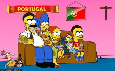 Os Simpsons versão portuguesa