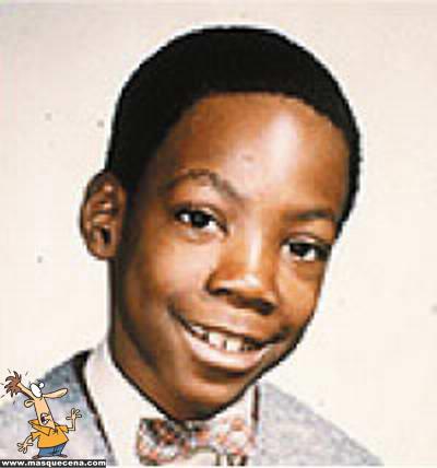Eddie Murphy quando era mais jovem