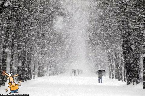 Europa coberta de neve - foto 5