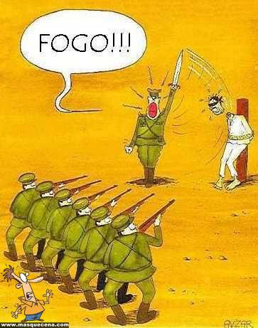 Execução pelo exército