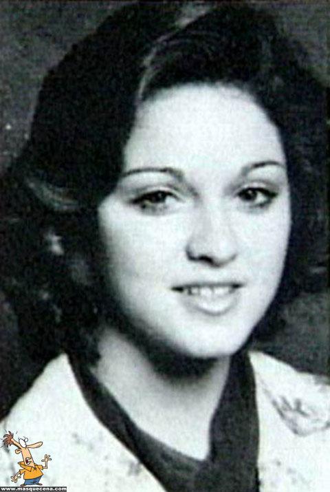 Madonna quando era mais jovem