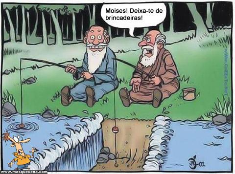 Pescando com Moisés