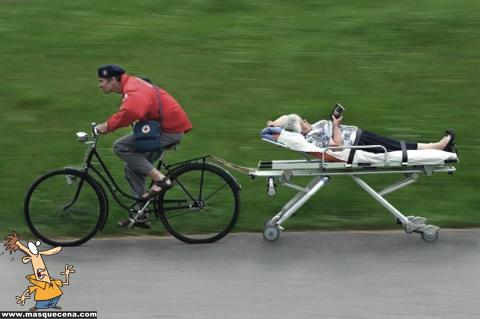 Novas ambulâncias para combater o preço da gasolina