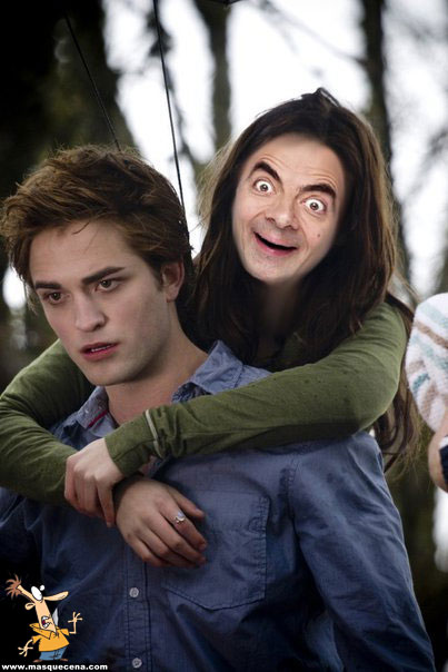 E se o Mr. Bean estivesse no Twilight