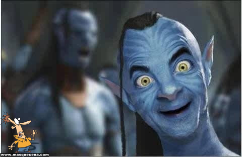 Mr. Bean no Avatar