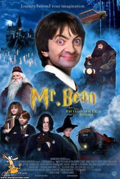 E se o Mr. Bean fosse o Harry Potter