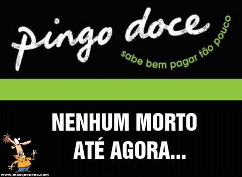 Pingo Doce: nenhum morto até agora