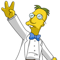Professor Frink dos Simpsons