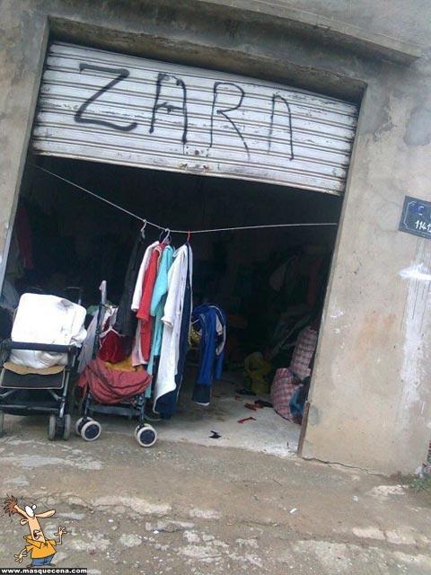 Loja da Zara na África