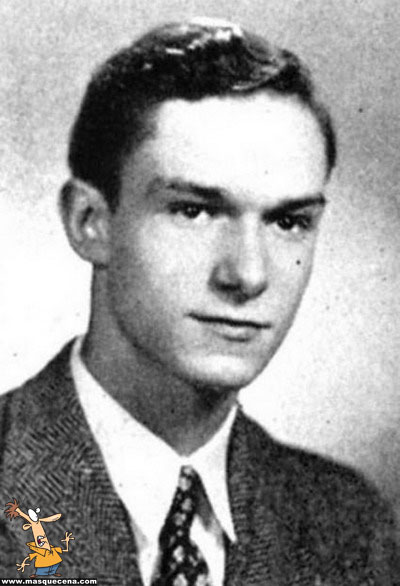 Young Hugh Hefner yearbook picture