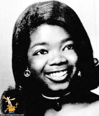 Young Oprah Winfrey before she was famous yearbook picture