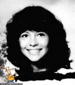 Young Pamela Anderson before she was famous  yearbook picture