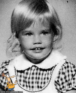 Young Denise Richards little girl