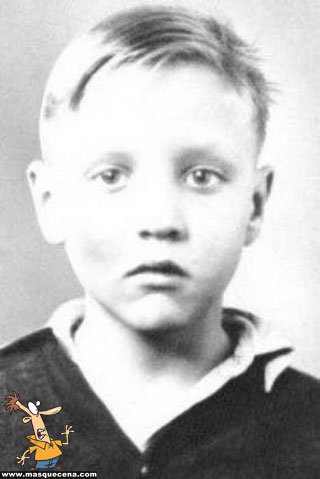 Young Elvis Presley as a kid