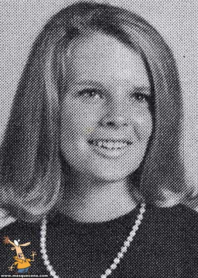 Young Kim Basinger before she was famous yearbook picture