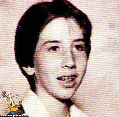 Young Marylin Manson before he was famous yearbook picture