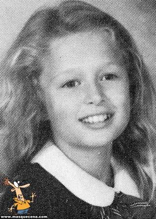 Young Paris Hilton little girl