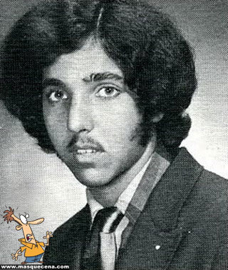 Young Ron Jeremy before he was famous yearbook picture