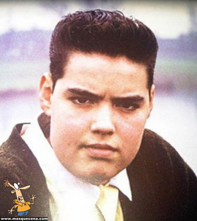 Young Russel Brand yearbook picture