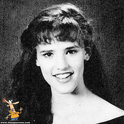 Young Jennifer Garner before she was famous yearbook picture