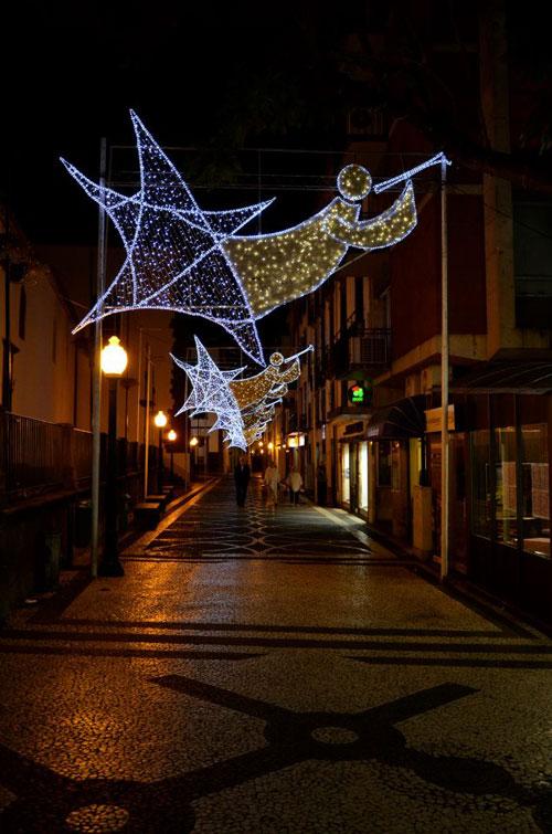 Iluminações de Natal na Rua da Sé, Funchal