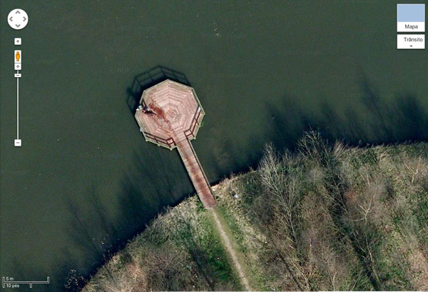 Possível crime no google maps